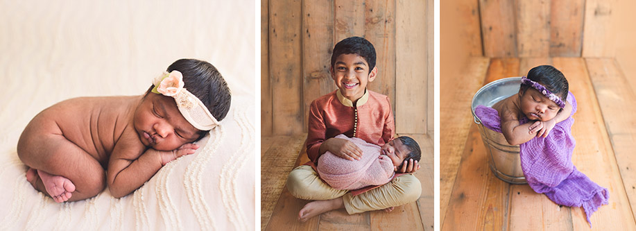 bay area newborns photographed with siblings