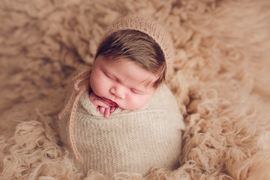 Livermore newborn photography redhead newborn girl